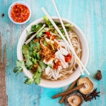 Organic chicken pho – phở gà